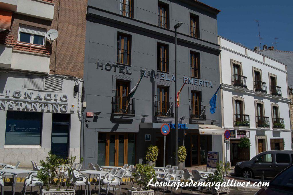 Hotel Rambla Emerita en Mérida - Los viajes de Margalliver